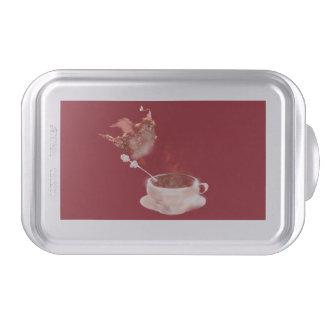 Coffee dragon cake pan