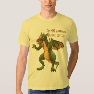 Coffee Dragon Tee Shirt