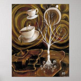 Coffee dreams canvas print