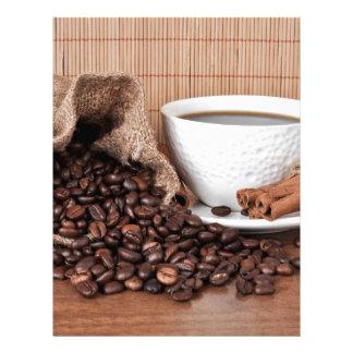Coffee Drink Food Kitchen Cook Diner Restaurant Custom Letterhead