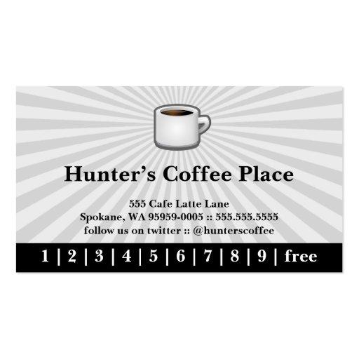 Coffee Drink Punch / Loyalty Card