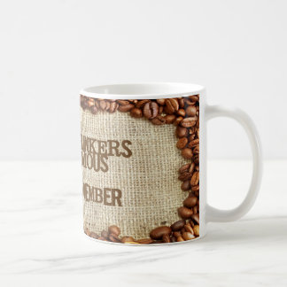 Coffee Drinkers Anonymous Mugs