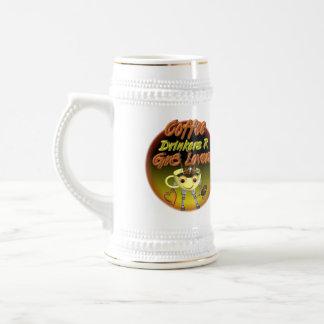 Coffee drinkers R better lovers Beer Stein