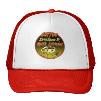 Coffee drinkers R better lovers Trucker Hats