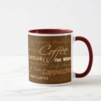 Coffee Drinks Mug