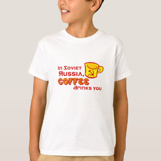 Coffee Drinks You Kids Shirt