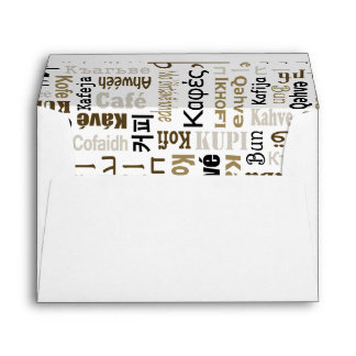 Coffee Envelopes