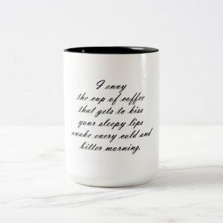 Coffee Envy Two-Tone Coffee Mug