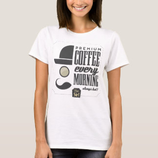 Coffee Every Morning T-shirt For Girls