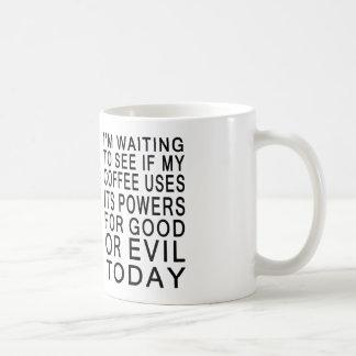 Coffee Evil or Good Mug