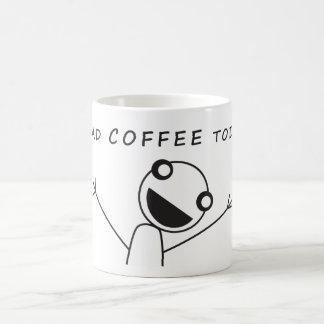 Coffee Excitement 11 Oz Magic Heat Color-Changing Coffee Mug