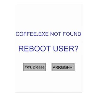 Coffee.exe Postales