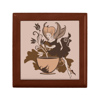 Coffee fairy keepsake box