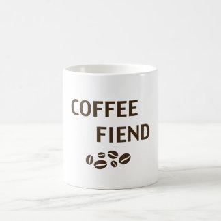 Coffee Fiend Classic White Coffee Mug