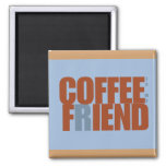 Coffee Fiend Rectangle Magnet