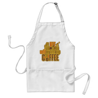 COFFEE FIRST apron - choose style, color