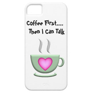 Coffee First iPhone5 Case