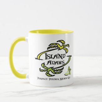 Coffee First, Mojitos Later Ceramic Mug