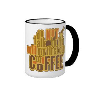 COFFEE FIRST mug - choose style, color