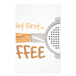 Coffee First Stationery