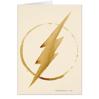Coffee Flash Symbol Card