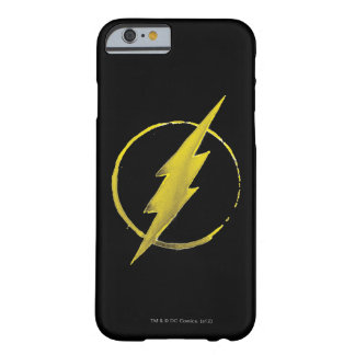 Coffee Flash Symbol - Yellow Barely There iPhone 6 Case