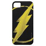 Coffee Flash Symbol - Yellow iPhone 5 Case