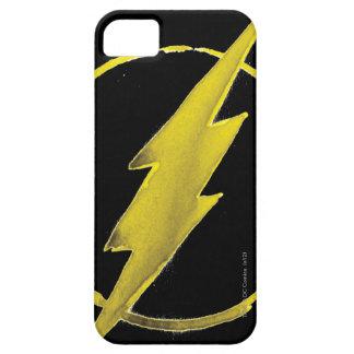 Coffee Flash Symbol - Yellow iPhone SE/5/5s Case