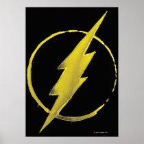justice league, batman, flash, superman, green lantern, dc comics, super hero, coffee stain, art, Poster with custom graphic design