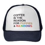 Coffee Flavoured Rainbow Trucker Hat