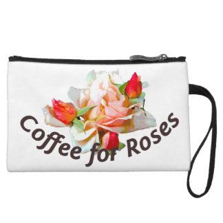 Coffee for Roses Clutch Wristlets