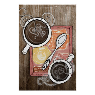 coffee for two poster