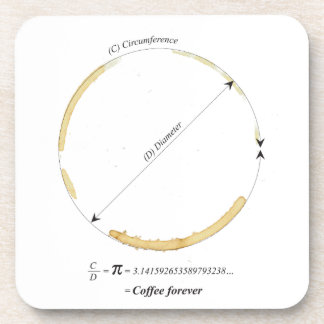 coffee forever coaster