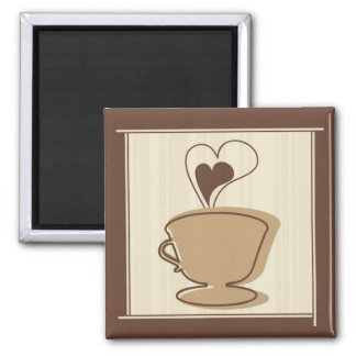 Coffee Fridge Magnet