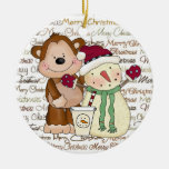 Coffee Friends Holiday coffee ornament