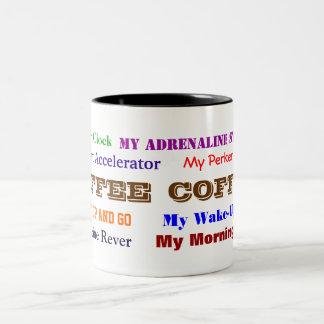 Coffee...fuel for the soul! Two-Tone coffee mug