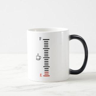 Coffee Fuel Gauge Morphing Mug