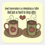 Coffee Fun Sticker