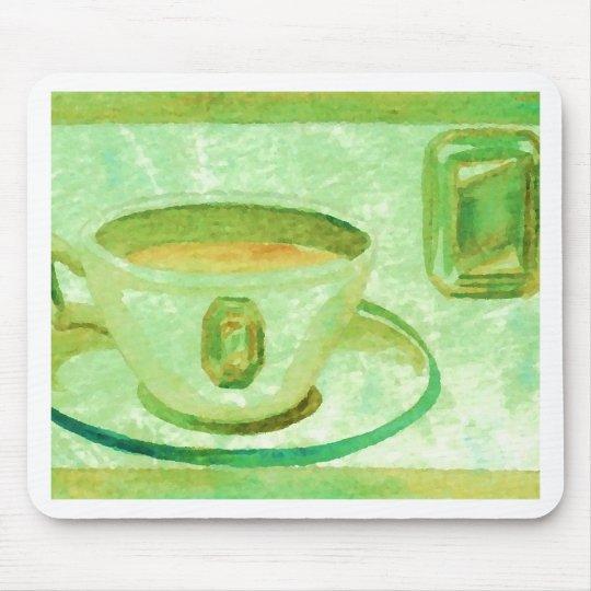 Coffee Gems - Emerald CricketDiane Coffee Art Mouse Pad