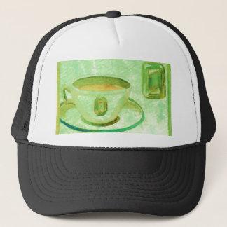 Coffee Gems - Emerald CricketDiane Coffee Art Trucker Hat