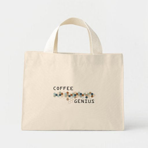 Coffee Genius Canvas Bags