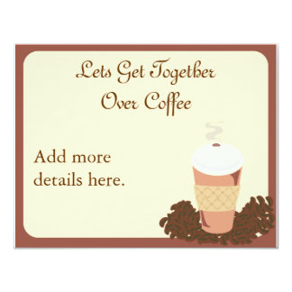 Coffee Get Together Card