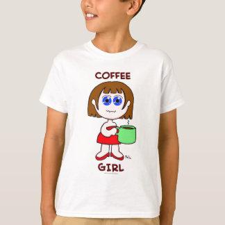 COFFEE GIRL - BROWN HAIR T-Shirt