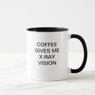 COFFEE GIVES ME X-RAY VISION MUG