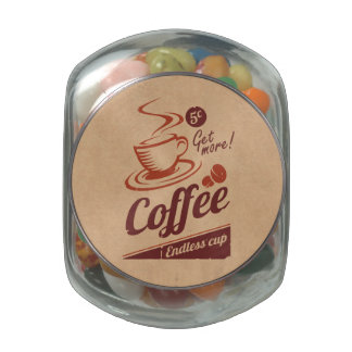 Coffee Glass Jar