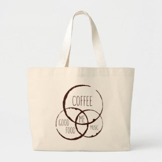 Coffee, Good Food, Music, ME! Tote Bag
