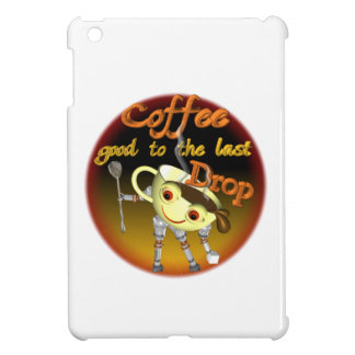 Coffee good to the last drop by Valxart com iPad Mini Cases