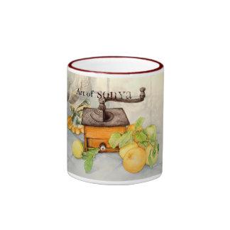 COFFEE GRINDER jpec, Art of, Sonya Coffee Mugs