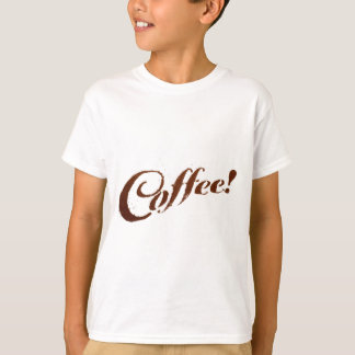 Coffee Grounds Coffee - Kids T-Shirt