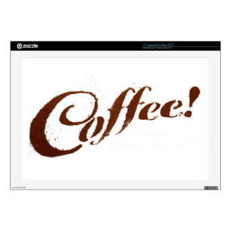 Coffee Grounds Coffee - Mac Sticker Decal For Laptop